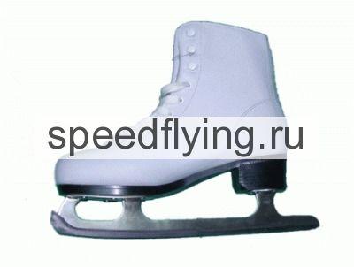 коньки ледовые фигурные (материал верха pvc, подкладка искусственный мех) размер 41 sprinter 215м