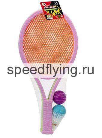 ракетки детские для тенниса и бадминтона 55 см, во